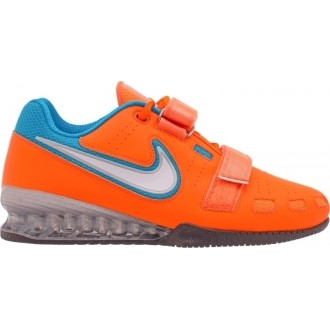 Nike Romaleos 2 Weightlifting Shoes - Orange / Blue