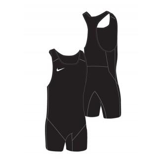 Dámský dres na vzpírání Nike Black / Black