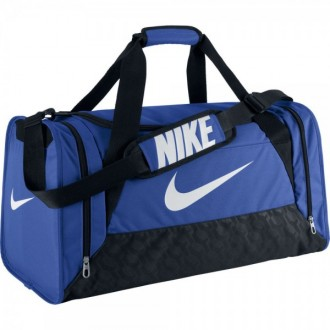 Taška Nike BRASILIA 6 DUFFEL MEDIUM modrá 36bd424363
