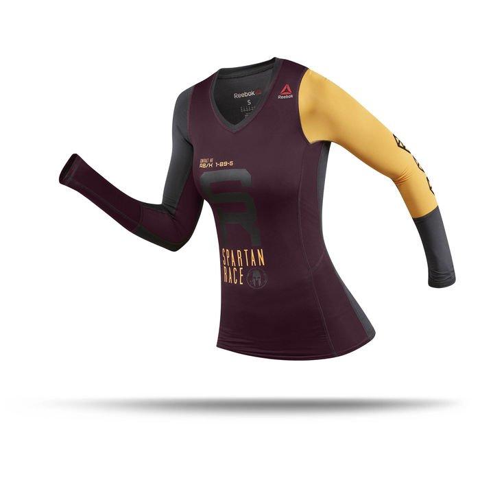Dámské kompresní triko Spartan Race LS CMP B47066