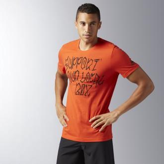Pánské tričko Crossfit Support Your Local Box BJ9356