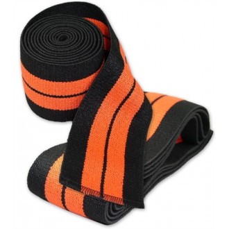 Titan THP Knee Wraps 2m - IPF (orange)