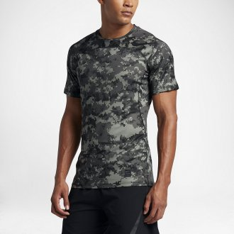 Tričko Nike Pro HyperCool camo