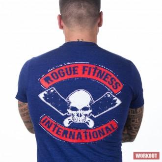 Pánské tričko Rogue International modré