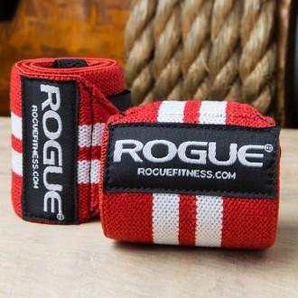 Zpevňovač zápěstí Rogue Red White 18