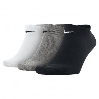 3 páry Nike ponožky Nike Value No-Show Socks