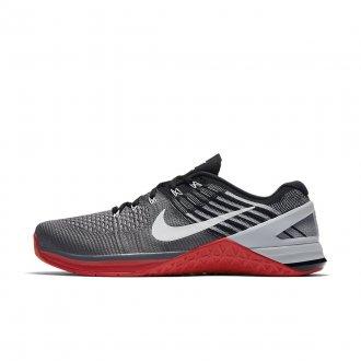 Pánské Nike Metcon 3 DSX Flyknit - šedivo červené