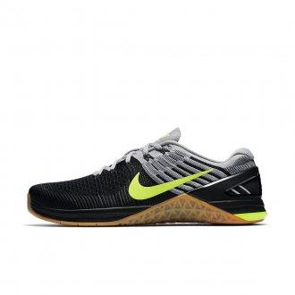 Pánské Nike Metcon 3 DSX Flyknit - černošedivé