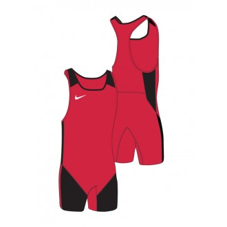 Pánský trikot Nike Weightlifting Singlet - Red/black
