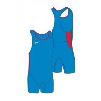 Dámský trikot Nike Weightlifting Singlet blue/scarlet