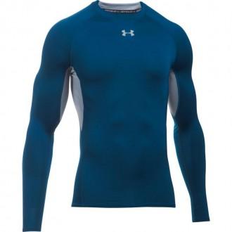 Pánské kompresní tričko HG Armour LS blue