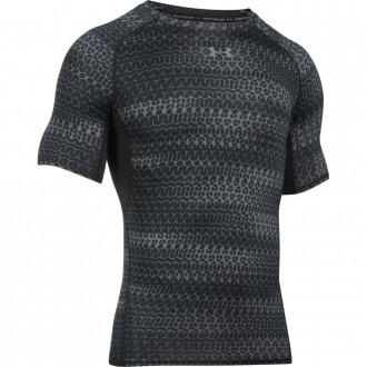 Funkční kompresní triko printed short sleeve