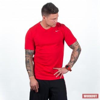 Pánské kompresní tričko Nike Pro Top - červené