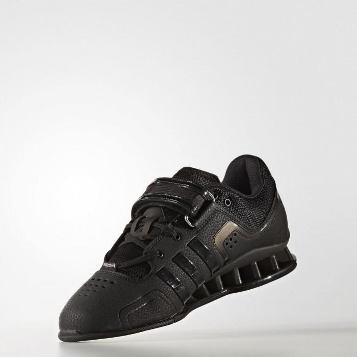 adidas AdiPower vzpěračské boty - černé - BotyObleceni.cz