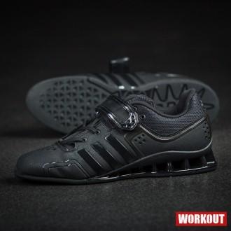 adidas AdiPower vzpěračské boty - černé