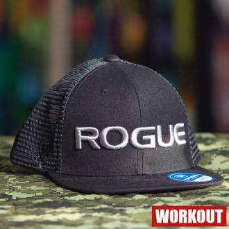 Kšiltovka Rogue Venture Flatbill - černá