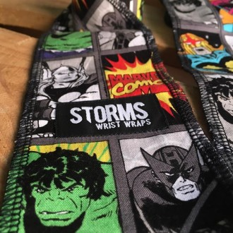 STORMS Wrist Wraps™  Marvel 2.0