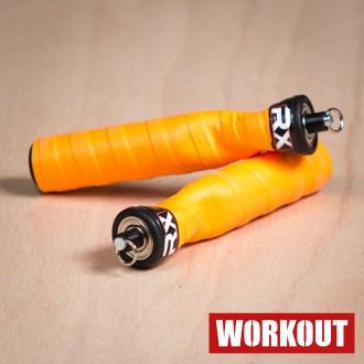 Rx Jump Rope - tmavě oranžová rukojeť
