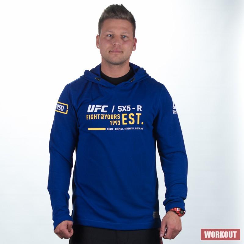 Pánská mikina UFC FG PULLOVER HOODIE BP8789