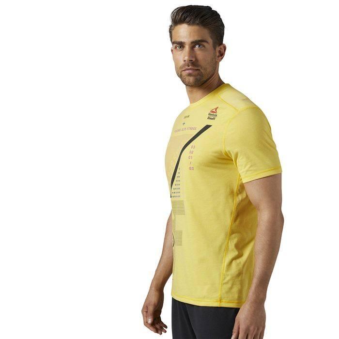 Pánské tričko CrossFit BURNOUT TEE BR4692