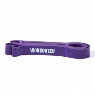 Odporová guma WORKOUT fialová - 29 kg