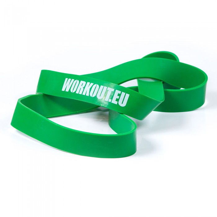 Odporová guma WORKOUT zelená - 45 kg