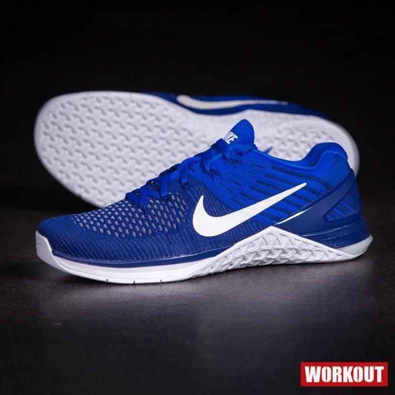 Pánské Nike Metcon 3 DSX Flyknit -modré