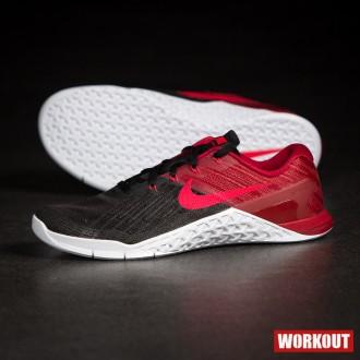 Pánské boty Nike Metcon 3 - červená 2ce2124b61