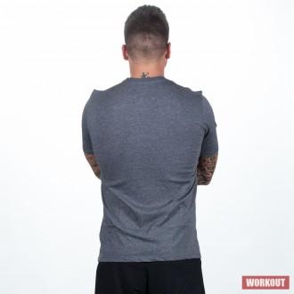 Pánské tričko Just do it. - šedivé