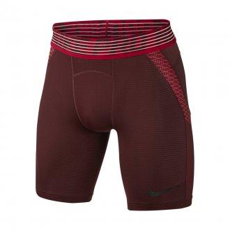 Pánské kompresní šortky Nike Pro Hypercool SHORT - červené ... 0a71740885