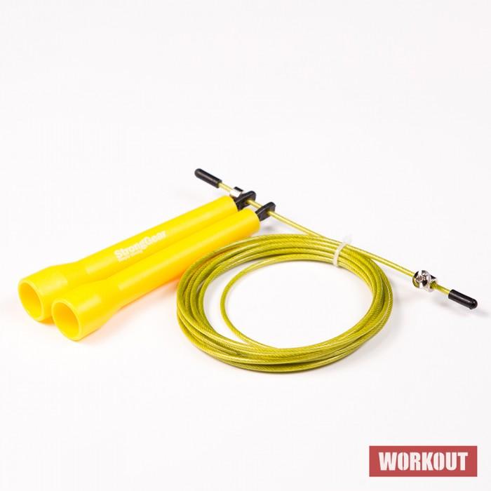 StrongGear Speed Rope švihadlo - žluté