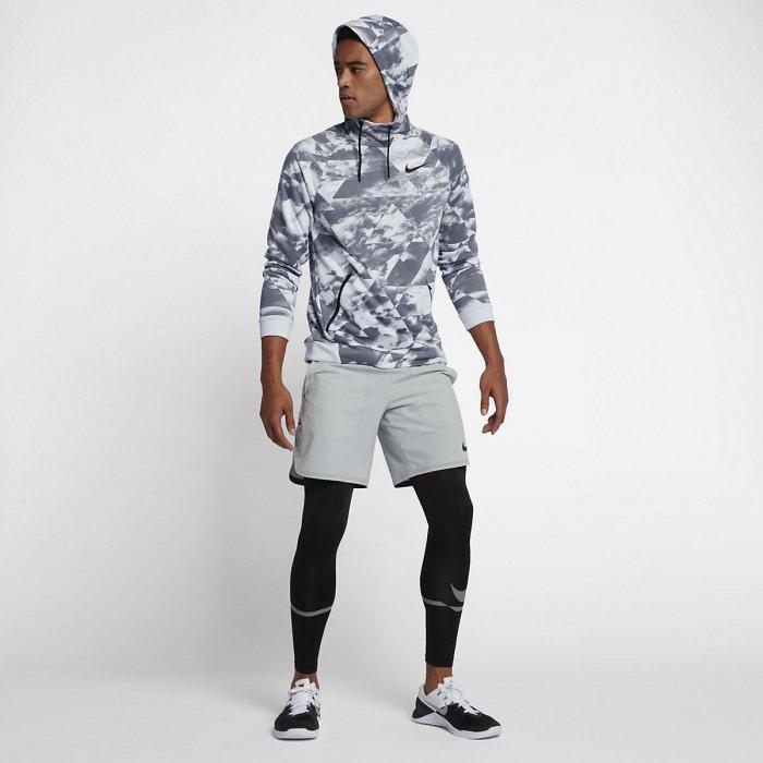 Pánská tréninková mikina s kapucí Nike Dry platinum