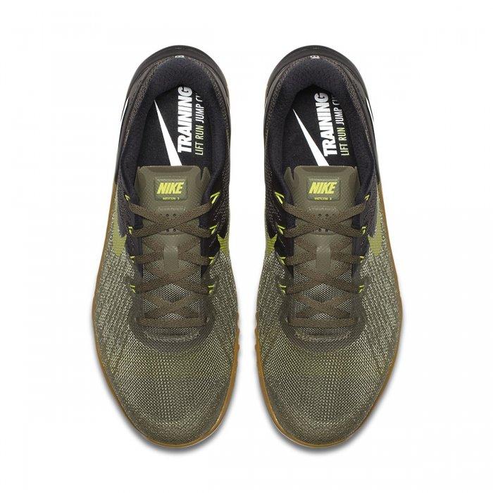 55a35fb1973 Pánské boty Nike Metcon 3 - černo zelená - BotyObleceni.cz
