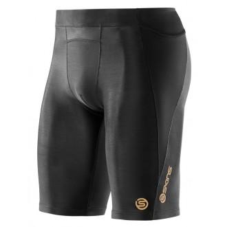 Pánské krátké kompresní kalhoty Skins A400 Black Half Tights