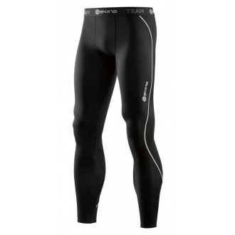 kompresní kalhoty Skins DNAmic Team Mens Long Tights Black