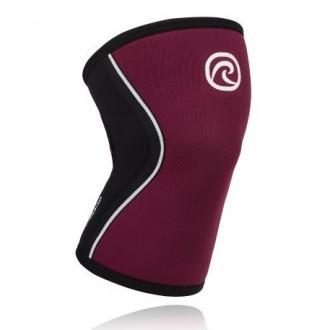 Bandáž kolene 5 mm - Vínová barva