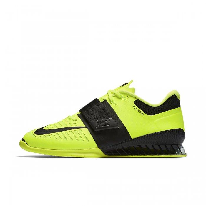 Pánské boty na vzpírání Nike Romaleos 3 - light green 2346f58c30