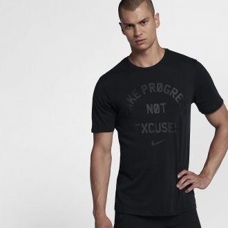 Pánské tričko Nike - NO EXCUSE - černá