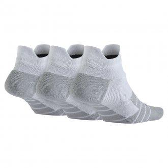 Dámské ponožky NIKE Dry Cushion Low Training - bílé
