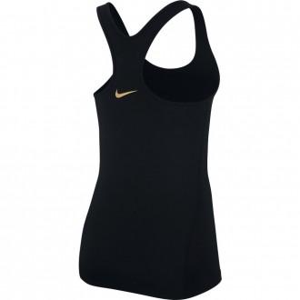 Dámské tílko Nike np tank jdi černo zlaté