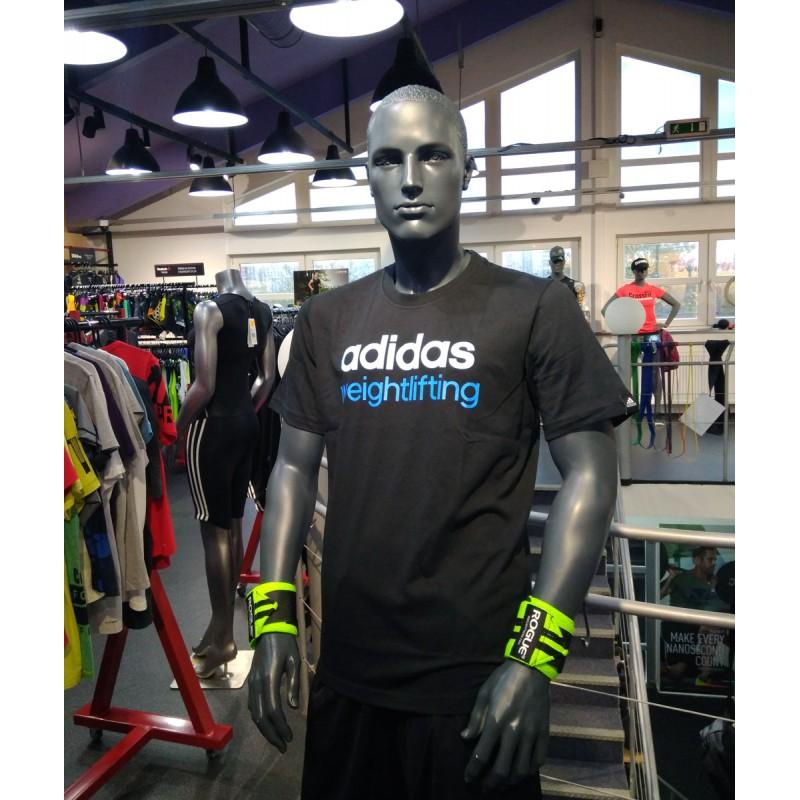 db402bcef25 Pánské tričko adidas weightlifting black - BotyObleceni.cz
