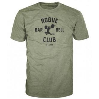 Pánské tričko Rogue Barbell Club 2.0 - zelené