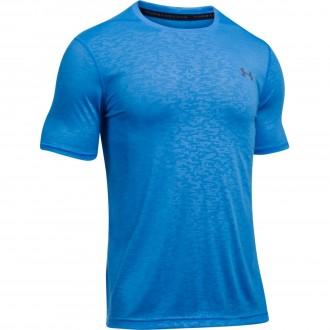 Pánské funkční tričko Under Armour THREADBORNE FTD EMBOSS - modré