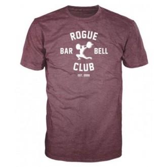 Pánské tričko Rogue Barbell Club 2.0 - fialové
