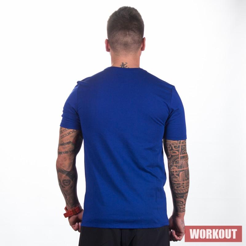 Pánské tričko Nike Swoosh Training T-Shirt blue