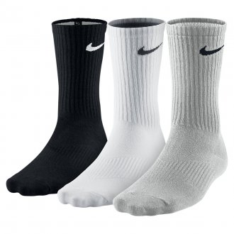 Unisex  Perfect Lightweight Crew Training Sock (3 Pair)
