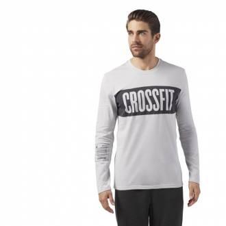 Pánské tričko CrossFit STRIPE LS TEE CF4553