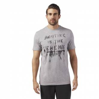 Pánské tričko CrossFit ROUTINE TEE - CF4570
