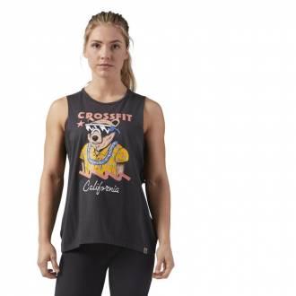 CrossFit CALI BEAR MUSCLE TANK