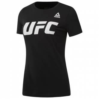 Dámské tričko UFC FG black Logo Tee - CD5744